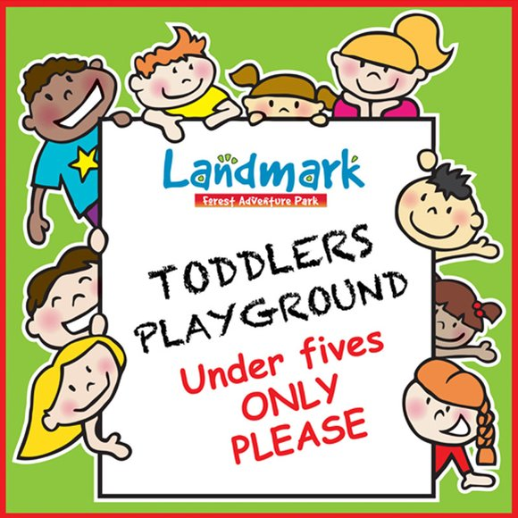 Landmark - Toddlers Signage Artwork
